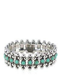 Philippe Audibert | Blue Han Turquoise Stretch Bracelet | Lyst
