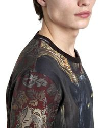 Dolce & Gabbana Multicolor Panther Printed Cotton Jersey T-shirt for men