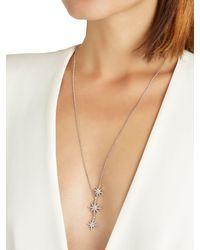 Apm Monaco | Metallic Meteorites Silver Necklace | Lyst