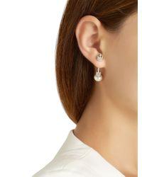 Apm Monaco | Metallic Silver Mono Earring | Lyst