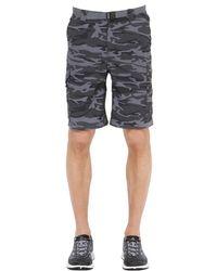Columbia - Multicolor Silver Ridge Camo Printed Cargo Shorts for Men - Lyst