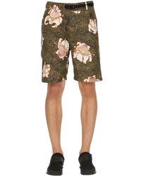 """Pantalones Cortos """"lab"""" De Algodón Con Flores Nike de hombre de color Multicolor"""