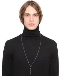 Henson - Black Horn Necklace for Men - Lyst