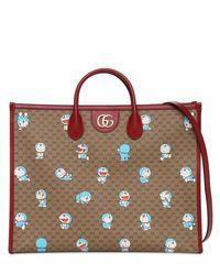 Сумка Из Канваса Doraemon Gg Gucci, цвет: Red