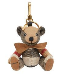 """Charm Borsa """"thomas Teddy"""" di Burberry in Multicolor"""