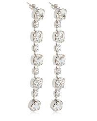 Ca&Lou - Metallic Victoria Simple Drop Earrings - Lyst