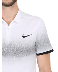 Nike Black Roger Federer Polo Shirt for men