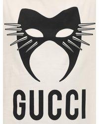 メンズ Gucci ヘビーコットンtシャツ Multicolor