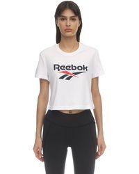 Reebok コットンtシャツ White