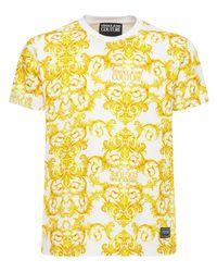 メンズ Versace Jeans コットンtシャツ Yellow