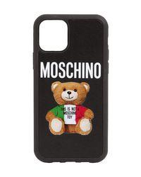 Moschino Teddy Iphone 11 Pro Max ケース Black