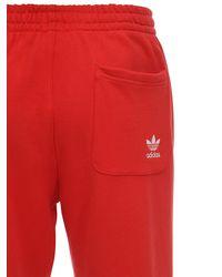 Спортивные Брюки Из Джерси Adidas Originals для него, цвет: Red