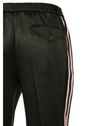 メンズ Gucci アセテート ジョギングパンツ Black