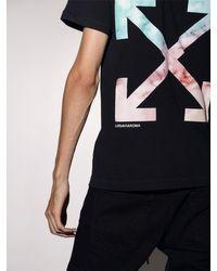 """T-Shirt En Coton Imprimé """"Lvr Exclusive"""" Off-White c/o Virgil Abloh pour homme en coloris Black"""