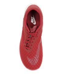 """Nike Red Sneakers """"free Hypervenom"""" In Rete for men"""
