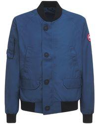 メンズ Canada Goose Faber ボンバージャケット Blue