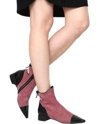 "Fabrizio Viti Multicolor 20mm Stiefel Aus Leder & Wildleder ""take A Bow"""
