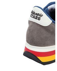 """Sneakers """"Antares"""" De Nylon Y Ante Atlantic Stars de hombre de color Blue"""