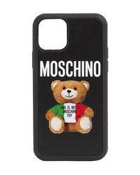 Moschino Teddy Iphone 11 Pro ケース Black