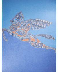 "Pañuelo ""Raji"" De Modal Y Cashmere Etro de hombre de color Blue"