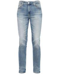 Calvin Klein 16.5cm Enge Jeans Aus Denim in Blue für Herren