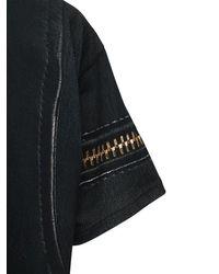 メンズ Moschino プリントコットンtシャツ Black