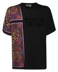 メンズ Versace Jeans コットンtシャツ Black