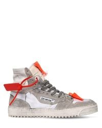 "Baskets Montantes En Cuir ""Off Court Mix"" Off-White c/o Virgil Abloh pour homme en coloris Multicolor"