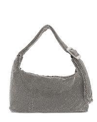 Benedetta Bruzziches Metallic Pina Bausch Crystal Mesh Shoulder Bag