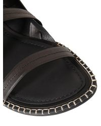 Ann Demeulemeester - Black Sandalen Mit Lederriemen for Men - Lyst