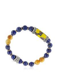 Cantini Mc Firenze | Blue Murrina Lapis Lazuli Bracelet | Lyst