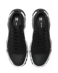 Adidas By Raf Simons Black Rs Detroit Runner Sneakers for men