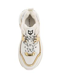 Naked Wolfe Multicolor 70mm Hohe Sneakers Aus Leder Und Mesh