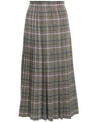 Ermanno Scervino グレンチェックプリーツスカート Multicolor