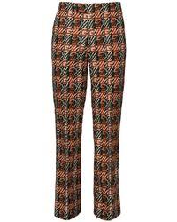 メンズ Gucci Gg コットンキャンバスパンツ 28cm Multicolor