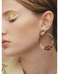 Anton Heunis Multicolor Rainbow Eye Bite Me Earrings