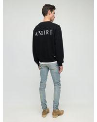 """Amiri Sweatshirt Aus Baumwolle Mit """" Bones""""-druck in Black für Herren"""