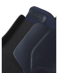Tod's | Black 20mm Suede & Neoprene Slip-on Sneakers | Lyst