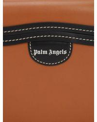 Borsa In Pelle di Palm Angels in Brown