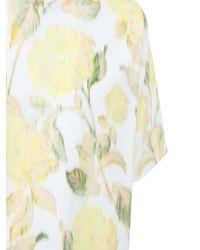 KENZO T-shirt Aus Baumwolle Mit Blumendruck in Multicolor für Herren