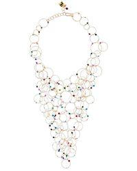 Rosantica | Metallic Luce Multicolor Quartz Necklace | Lyst