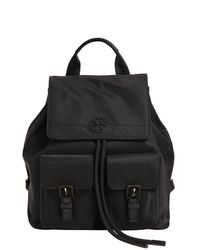 Tory Burch - Black Quinn Nylon Backpack - Lyst