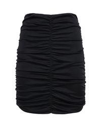 Isabel Marant Doroka ジャージーミニスカート Black
