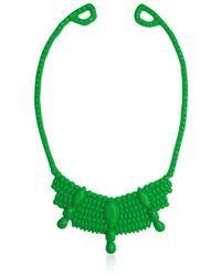 Mariah Rovery Green Colar Rainha Necklace