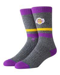 """Chaussettes """"Lakers Boot"""" Stance pour homme en coloris Multicolor"""