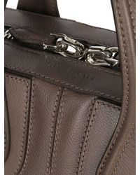 Givenchy | Brown Embossed Stars Nightingale Leather Bag | Lyst