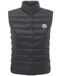 Moncler Black Liane Light Down Vest