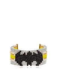 "Bijoux De Famille - Multicolor Bracciale ""batgirl"" Con Perline - Lyst"