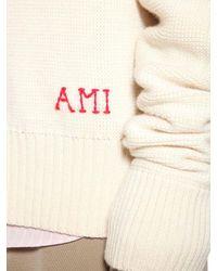 AMI Oversized Strickpullover Aus Schurwolle in Multicolor für Herren