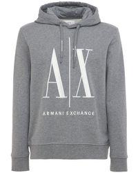Свитшот С Капюшоном Armani Exchange для него, цвет: Gray
